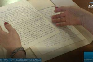 Eksponuojami unikalūs dokumentai iš Sankt Peterburgo archyvų