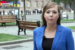 Kijeve sulaikyta Rusijos televizijos žurnalistė