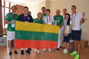 LTOK vadovai vėl lankėsi Europos žaidynių olimpiniame kaimelyje Baku