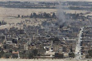 JAV vadovaujama koalicija sunaikino Damasko režimo Palmyroje paliktą karinę techniką