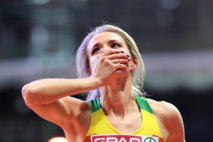 Šuolininkė į aukštį A. Palšytė be problemų pateko į Europos čempionato finalą