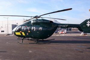 Pasieniečių sraigtasparnis iš Kauno į Vilnių gabeno donoro organus