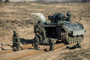 Jonavos, Elektrėnų ir Kaišiadorių apylinkėse – NATO karių pratybos