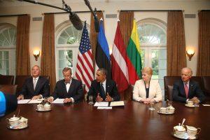 JAV ir Baltijos šalių prezidentai - už energetinį ir kibernetinį saugumą