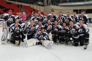 Nacionalinės ledo ritulio lygos čempionate triumfavo Kaliningrado klubas