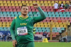 A. Skuja – Europos neįgaliųjų čempionato nugalėtojas!