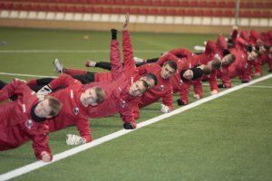 """""""Sūduvos"""" futbolininkai pradėjo pasirengimą sezonui"""