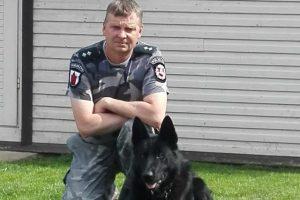 Policijos šuo susekė dviračių vagį