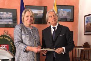 Italijoje atidarytas naujas Lietuvos garbės konsulatas