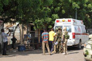 Nigerijos turguje susisprogdinus mažoms mergaitėms, sužeista 17 žmonių