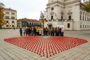 Žvakučių akcija 1521 organų donorui pagerbti – tarp jų ir Justinai