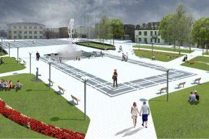 Kupiškio centrinei aikštei ir jos prieigoms tvarkyti – beveik 2 mln. eurų