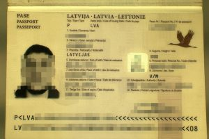 Teisingumo vengęs Estijos gyventojas naudojosi latviška klastote