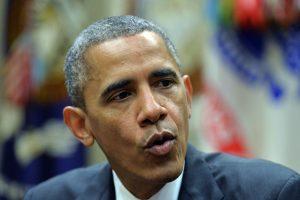 B. Obama telefonu pasikalbėjo su Saudo Arabijos karaliumi