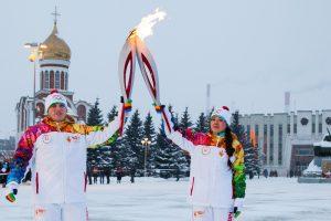Rusijoje mirė olimpinio deglo nešėjas
