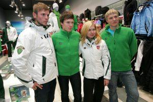 Pirmieji į Sočio žiemos olimpines žaidynes atvyks Lietuvos slidininkai