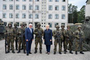 D. Grybauskaitė: Vokietijos kariai – Lietuvos saugumo garantas