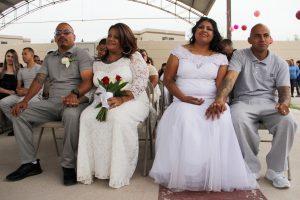 Meilė kalėjime: susituokė 63 kaliniai