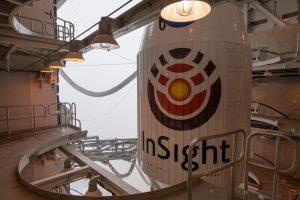 """NASA paleido į Marsą zondą """"InSight"""""""