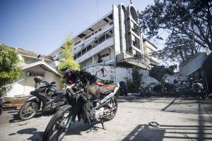 Išpuolis Indonezijos policijos būstinėje: žuvo mažiausiai 10 žmonių