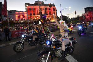 Sidnėjuje surengtas tradicinis gėjų paradas