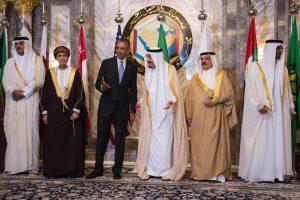 B. Obama pradėjo susitikimą su Persijos įlankos lyderiais
