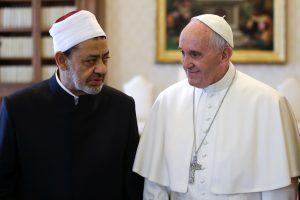 Vatikane – istorinis popiežiaus ir sunitų didžiojo imamo susitikimas