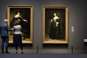 Rembrandto jaunavedžiai, praminti Kim ir Kanye, sugrįžo namo po 400 metų