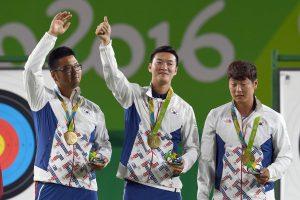 Pietų Korėjos lankininkai po 8 metų susigrąžino olimpinių čempionų vardą
