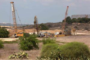 Izraelis: statoma požeminė siena aplink Gazos Ruožą