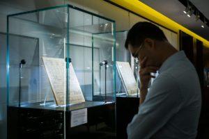 Londone už 4,5 mln. svarų parduotas G. Mahlerio simfonijos natų rinkinys