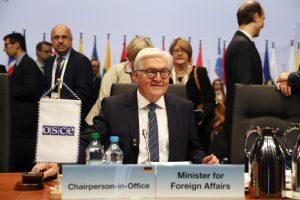 Vokietijoje susitiko valstybių užsienio reikalų ministrai