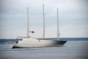 Vokietijoje pradėti didžiausios pasaulyje jachtos bandymai