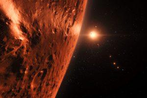 Didelis atradimas: mokslininkai aptiko septynių Žemės dydžio egzoplanetų sistemą