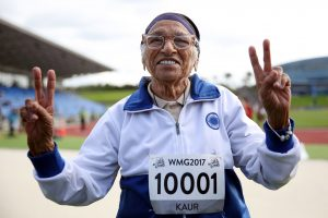 Amžius – ne kliūtis: 101-erių indė laimėjo sprinto rungtį