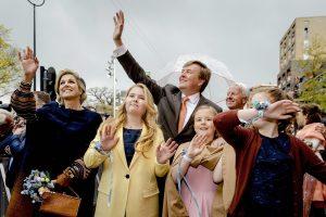 Karaliaus 50-metį švenčia visi Nyderlandai