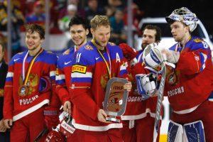 Pasaulio ledo ritulio čempionato bronza – rusams