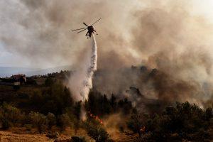Graikija prašo ES pagalbos gesinant miškų gaisrus