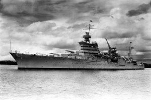 Ramiajame vandenyne rastos prieš 72 metus nuskendusio JAV kreiserio nuolaužos