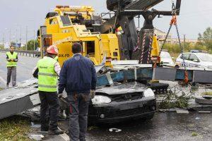 Rumunijoje per smarkią audrą žuvo aštuoni žmonės