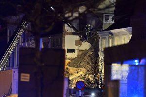 Dujų sprogimas Belgijoje: rasti du žuvę žmonės