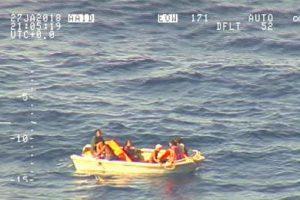 Vandenyne nuskendus keltui po 4 parų rasti 7 išsigelbėjusieji