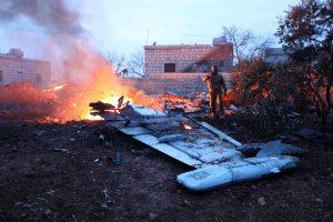 Sirijos džihadistai numušė Rusijos karo lėktuvą