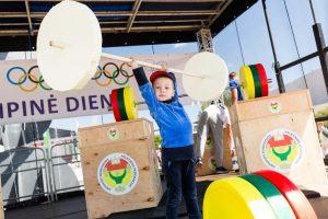 Olimpinė diena priviliojo net 20 tūkst. dalyvių