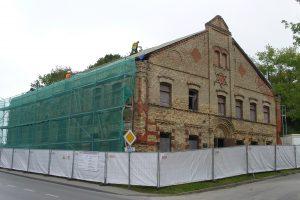 Tvarkoma XIX a. siekianti Alytaus sinagoga