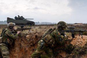 Į Lietuvą atvyko Norvegijos kariai