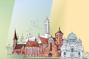 Pasakojimai apie devynias Kauno bažnyčias – neįprastu formatu