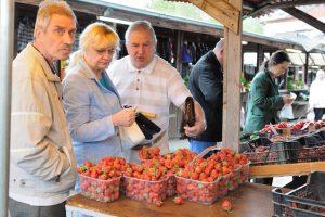 Lenkiškos braškės – penkiskart pigesnės už lietuviškas
