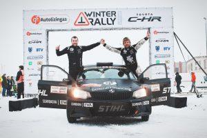 Žiemos ralio finiše – netikėtumas: pergalė vis dėlto atiteko B. Vanagui