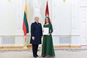 Prezidentė: mums turi rūpėti, kad lietuvių kalba neskurstų